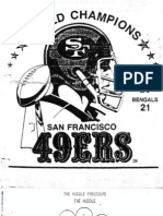 1982 49ers Offesne - Walsh