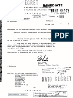 MEMORANDUM FOR THE SECRETARY GENERAL, NORTH ATLANTIC TREATY ORGANIZATION - Military Appreciation on the Current Situation in Poland 30 JUN 81