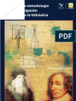 Edmundo Pedroza González, Aspectos de La Metodología de La Investigación e Historia de La Hidráukica