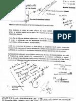 Complément d'Analyse at de La DTO