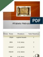 02 - Alfabeto Hebraico