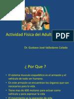 Actividad Física Del Adulto Mayor