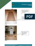 Manual de como colocar piso de borracha da Daud - Detalhado