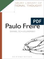 Daniel Schugurensky Paulo Freire Bloomsbury Library of Educational Thought