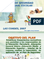 Plan de Seguridad Integral Escolar
