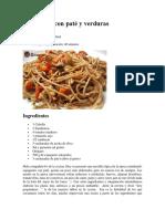 Espaguetis con paté y verduras.pdf
