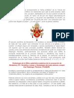A Benedicto XVI Le Ha Correspondido El