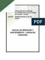 Caratula Operacion y Mantenimientolaguna