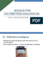 Medidas Por Voltímetros Analógicos - Instrumentação Eletrônica