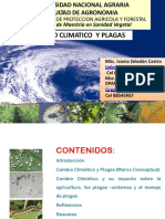 Cambio Climatico y Plagas