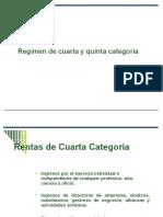 impuestos de Cuarta y Quinta Categoria