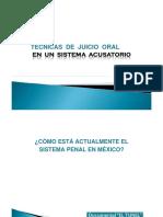Tecnicas de Juicio Oral Mexico