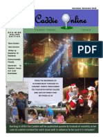 November December 2015 Edition of the Caddie Online