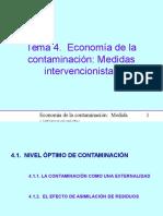 Economia de la Contaminación