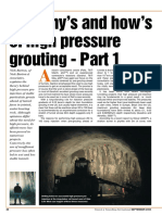 2004. Barton-High Pressure Pre-grouting. TTI Sept 2004 p28-30 PART I