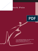 Low Back Pain Brochure