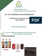 Materiais  e suas propriedades