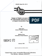 Diseño de filtros pasabajas USAARL Report 95-13