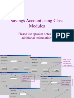 Class Module Savings