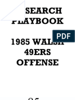 1985 49ers Offense - Walsh