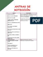 132887428 Mantras de Proteccion Docx