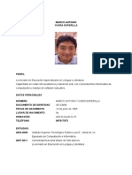 CV - Google Docs