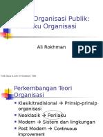 4-Perilaku Organisasi EKONOMI