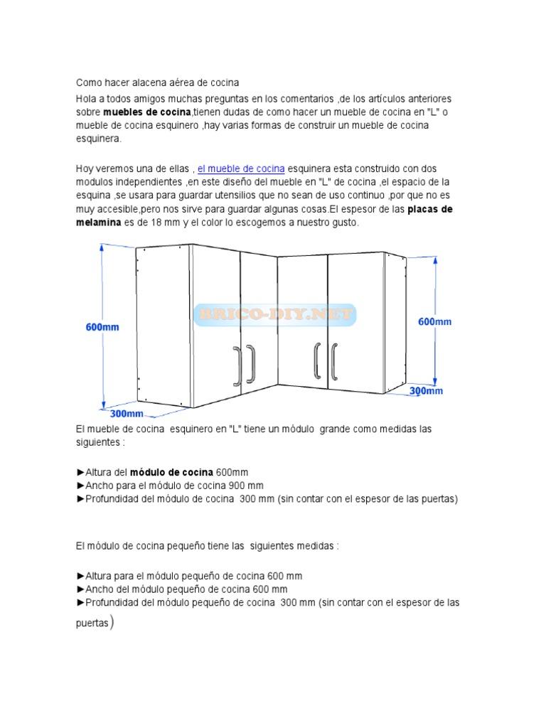 Emejing Altura Muebles Cocina Images - Casas: Ideas & diseños ...