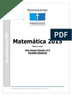 D-5 Datos y Azar -Variable Aleatoria