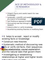 Methodology & Methods of Research