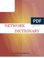 Network Dictionary Demo