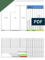 Matriz de Capacitación de Asistente de Control Documentario - PLUSPETROL