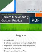 Carrera Funcionaria en el Perú
