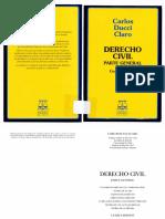 1. Ducci, Carlos Derecho Civil Parte General