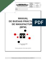 FB-MGMP-01 Manual Buenas Practicas de Manufactura