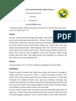 Pterygium Akibat Penyakit Yang Berhubungan Dengan Pekerjaan