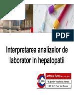 Interpretare Analize Hepatopatii (1)