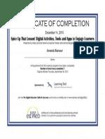 pd certificate 1