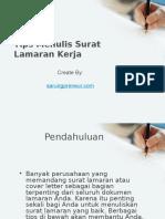 Tips dan Contoh Surat Lamaran Kerja PNS