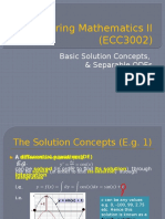 Module 2 - Basic Concepts, Modeling, Separable ODE