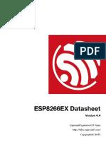 ESP8266 Wi-Fi Datasheet