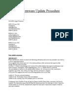 MXK Firmware Update Procedure