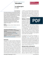 Metabolic Versatility in Methanogens