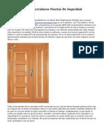 INN.SOLUTIONS.Cerraduras Puertas De Seguridad INN.DOOR