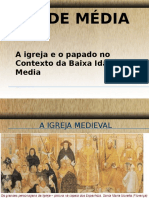 A Igreja e o Papado No Contexto Da Baixa Idade Media