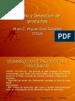 Diseño y Selección de Productos.