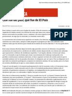 Qué fue del país, qué fue de El País.pdf
