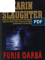 Karin Slaughter - Grant County 1. Furie Oarba