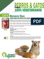 Comida húmeda vegana para perro & gato