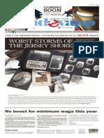 Asbury Park Press front page, Sunday, January 3, 2016